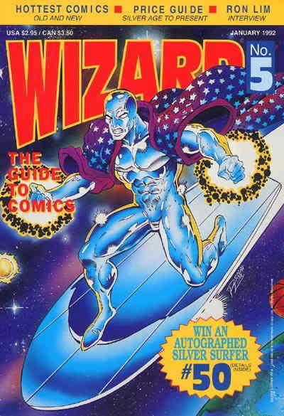 Wizard: The Comics Magazine #5 VF/NM; Wizard | save on shipping - details inside