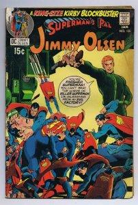 Superman's Pal Jimmy Olsen #135 ORIGINAL Vintage 1970 DC Comics 2nd Darkseid