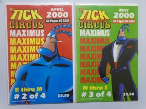 Tick Circus Maximus, Set#2+3, 6.0-8.0, (2000)