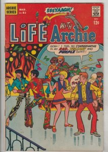 Life with Archie #83 (Mar-69) FN/VF Mid-High-Grade Archie, Jughead, Betty, Ve...