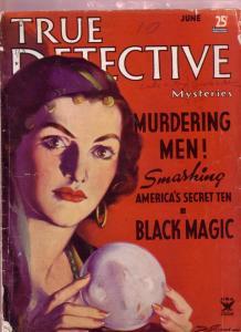 TRUE DETECTIVE MYSTERIES-6/1935-LINDBERGH KIDNAP---PULP G/VG