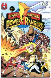 POWER RANGERS #5, NM-, Martial arts, monsters, TV hit, more Kids items in store