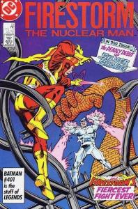 Fury of Firestorm (1982 series) #53, NM- (Stock photo)