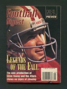 Football Digest / Steve Young / September 1995