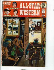 All Star Western # 9 VG/FN DC Comic Book Buffalo Bill Bat Lash Pow-Wow Smith JL1