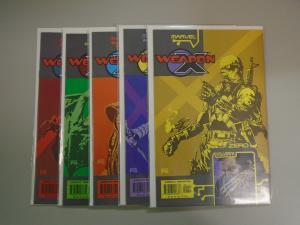 Weapon X Agent Zero (Marvel 2002) Set:#1-5, 8.0/VF (2002)