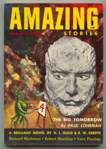 Amazing Stories October 1953- The Big Tomorrow- Matheson