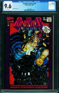 Punisher Armory #10 CGC 9.6-1994 Scarce Low distribution 2012367007