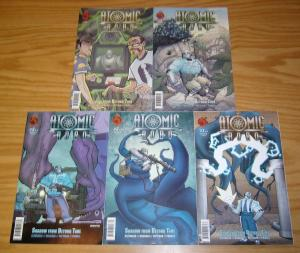 Atomic Robo vol. 3: Shadow From Beyond Time #1-5 VF/NM complete series - set