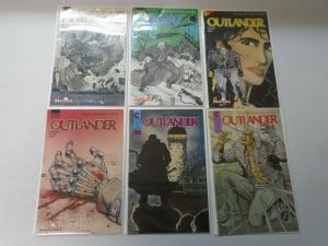 Outlander lot #1-6 (1987-88) 8.0 VF