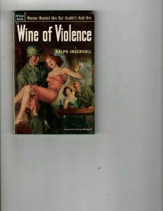 3 Books Wine of Violence James Bond Dr. No Angel Unaware Dale Evans Rogers JK26