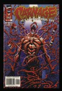 Carnage It's a Wonderful Life #1 NM+ 9.6