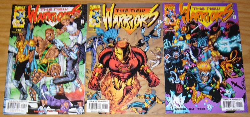 New Warriors vol. 2 #0 & 1-10 VF/NM complete series - marvel comics set lot