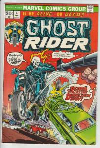Ghost Rider, The #4 (Feb-74) VF/NM High-Grade Ghost Rider