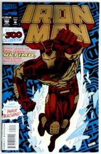 IRON MAN #300 FOIL COVER FIRST PRINT MARVEL COMICS (1994) WAR MACHINE NM COMIC