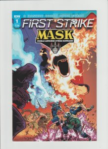 MASK: First Strike #1 NM 9.2 IDW Comic Cover by ILias Kyriazis