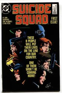 Suicide Squad #1 1987-movie dc Key Issue!-VF-