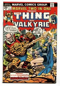 Marvel Two-In-One #7 1975- Valkyrie issue!-Thing-VF-