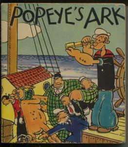 Poeye's Ark- Big Little Book-#1597-1936-EC Segar art-soft cover-FN