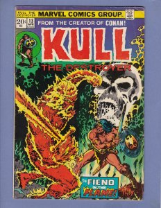 Kull The Destroyer #13 VG Marvel 1974