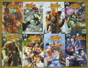 Street Fighter #1-14 VF/NM complete series - image comics/udon - A variants set