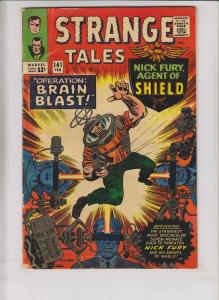 Strange Tales #141 VG- nick fury 1ST MENTALLO & 1ST FIXER stan lee - jack kirby