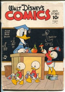 Walt Disney's Comics #25 1942-Dell-Raymond Miller collection-recreated cover-FR