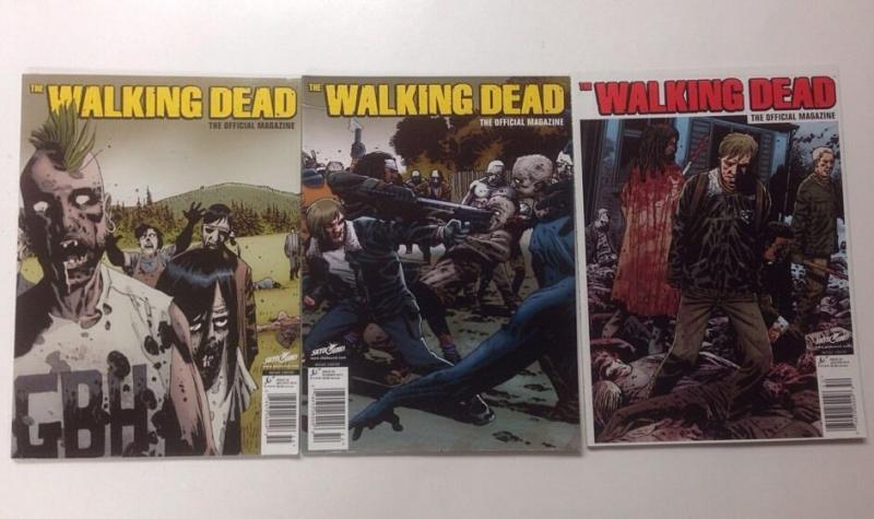 Walking Dead Magazine Issues 2 4 5 Lot Set Run