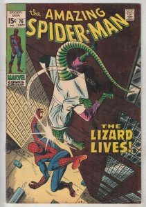 Amazing Spider-Man #76 (Sep-69) FN/VF Mid-High-Grade Spider-Man