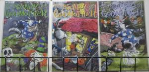 SCARY GODMOTHER: WILD ABOUT HARRY (Sirius,2000) #1-3 COMPLETE! VF-NM