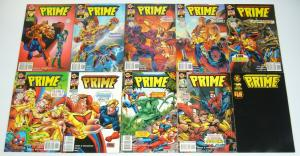 Prime vol. 2 #∞ & 1-15 VF/NM complete series - malibu - spider-man set