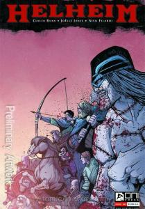 Helheim #4 VF/NM; Oni | save on shipping - details inside