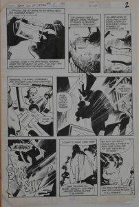 GENE COLAN / KLAUS JANSON original art, JEMM SON of SATURN #4 pg 2, 11x16, 1984