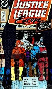 Justice League Europe #6 (1989)