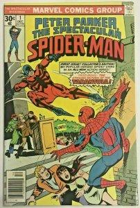 SPECTACULAR SPIDER-MAN#1 VF/NM 1976 MARVEL BRONZE AGE COMICS