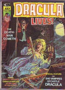 Dracula Lives #7 (Jul-73) FN Mid-Grade Dracula