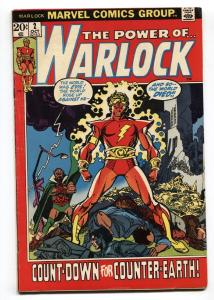 WARLOCK #2 1972-Marvel-Second issue- comic book