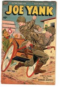 JOE YANK #5 First issue comic-TOTH-TUSKA-CELARDO-DeCARLO-KOREAN WAR