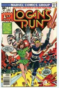 Logan's Run 1 Jan 1977 NM- (9.2)
