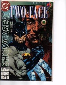 DC Comics Showcase 93 #8 Batman Knightfall Two-Face Deathstroke Bane