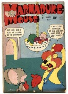 Marmaduke Mouse #17 1950- Golden Age Funny Animals VG