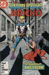 DC TEEN TITANS SPOTLIGHT #4 VG/FN