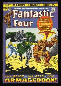 Fantastic Four #116 FN+ 6.5 Marvel Comics