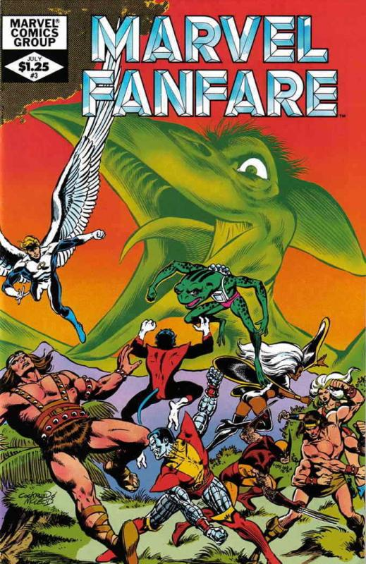 Marvel Fanfare #3 VF/NM; Marvel | save on shipping - details inside