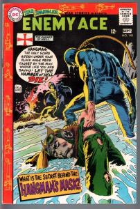 STAR SPANGLED WAR STORIES #140-1968-DC WAR COMIC-SILVER AGE--ENEMY ACE VG/FN