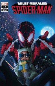Miles Morales Spider-Man #18 Marvel 2020. First Printing Baby Morales Variant