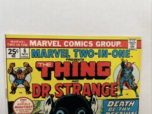 Marvel Two-in-One #6  - Thing And Dr. Strange