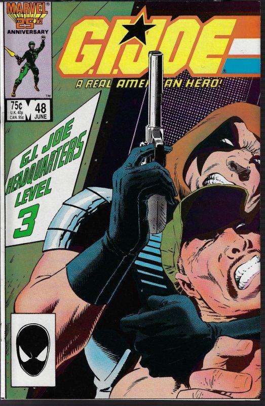 GI Joe, A Real American Hero #48 (Marvel, 1986) NM