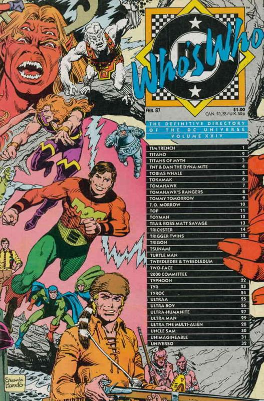 Who's Who: The Definitive Directory of the DC Universe #24 VF/NM; DC | save on s
