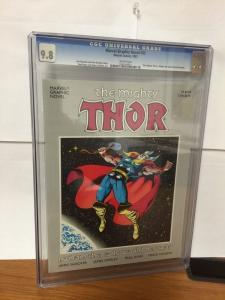 Marvel Graphic Novel 33 The Mighty Thor I Whom The Gods Would Destroy Cgc 9.8
